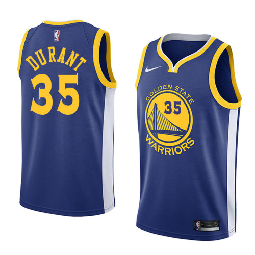 Golden State Blue Hot Pressed Jersey