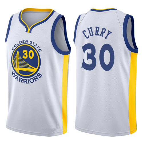 Golden State White Hot Pressed Jersey