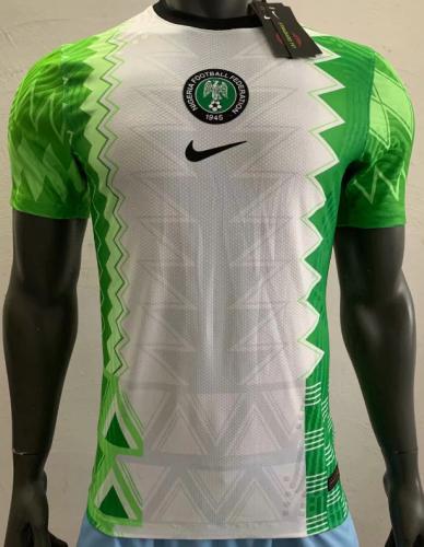 2020 Nigeria Home Player Jersey