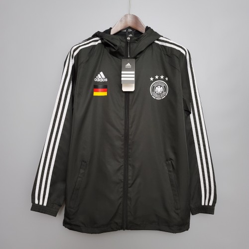 2021 Windbreaker Germany Black S-XXL