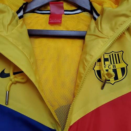 2021 Windbreaker Boca Juniors Blue and Yellow S-XXL(1)