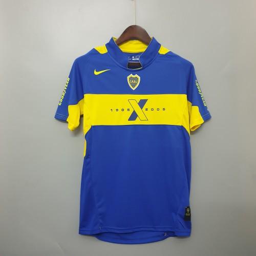 2005 Boca Juniors Home  Retro Jersey