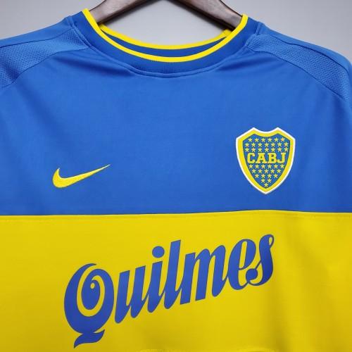 99-20 Boca Juniors Home  Retro Jersey