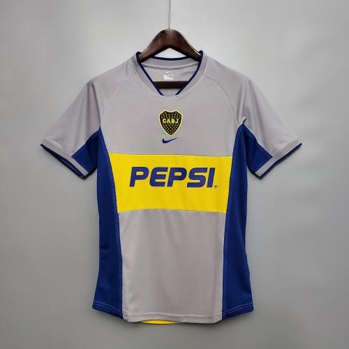 2002 Boca Juniors Away  Retro Jersey