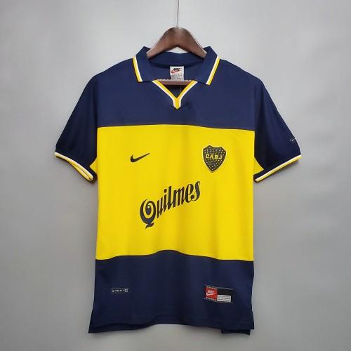 1999 Boca Juniors Home  Retro Jersey