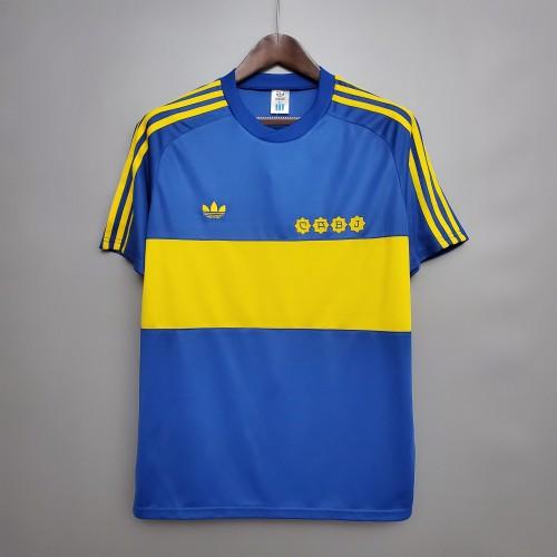 1981 Boca Juniors home Retro Jersey