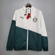Windbreaker Palmeiras white and green S-XXL