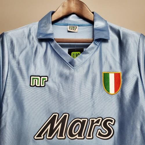90-91 Napoli Home Retro Jersey