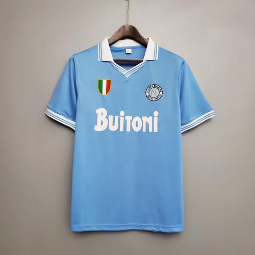 86-87 Napoli Home Retro Jersey