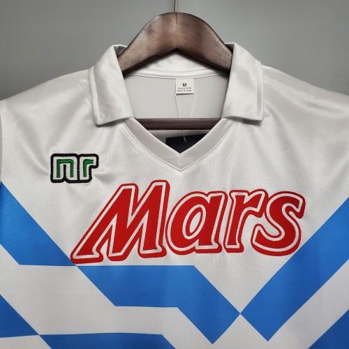 88-89  Napoli Away Retro Jersey