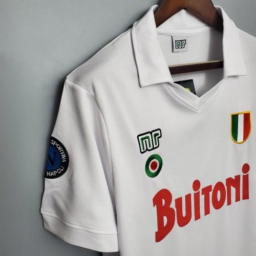 87-88  Napoli Away Retro Jersey