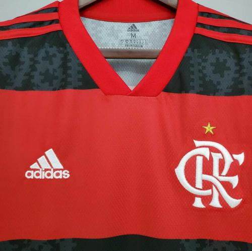 21-22 Flamengo Home Fans  Jersey