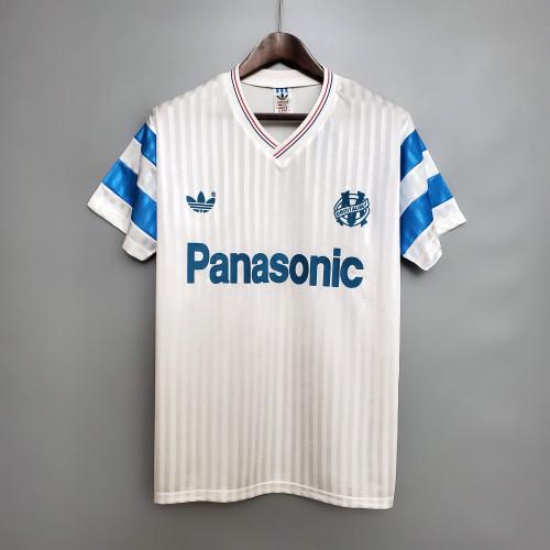 1990 Marseille Home Retro Jersey