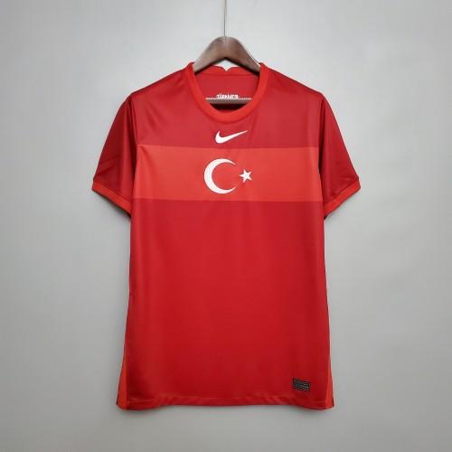 2020  Turkey Away Fans Jersey