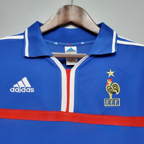 2000 France Home Retro Jersey