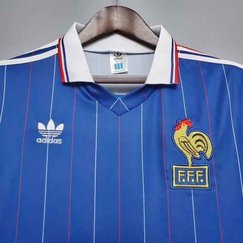 1982 France Home Retro Jersey