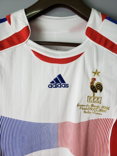 2006 France Home Retro Jersey