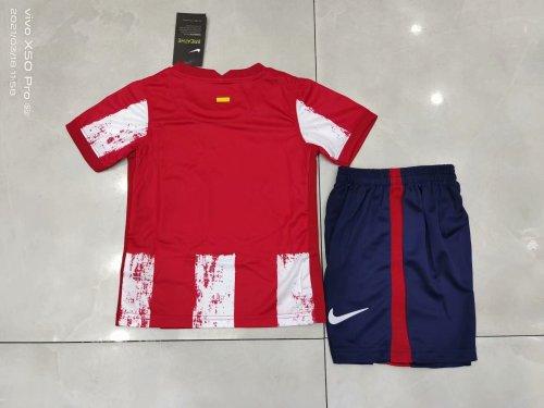 21-22 Atletico Madrid Home Kid Kit