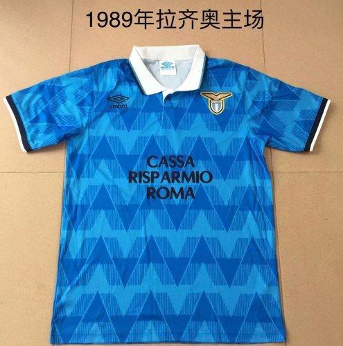 1989 Lazio Home  Retro Jersey