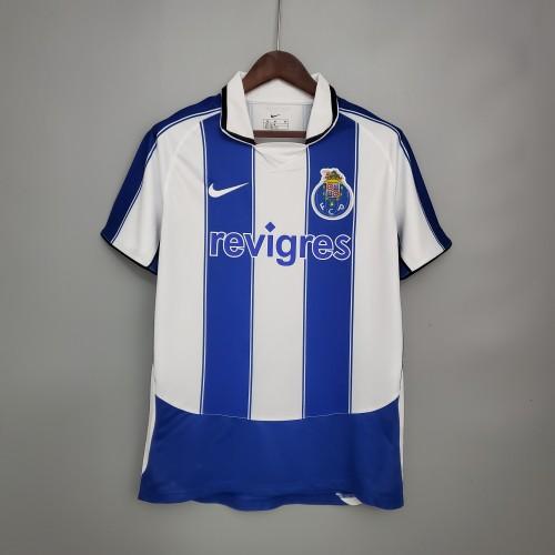 03-04 Porto Home Retro Jersey