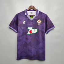 92-93  Fiorentina Home Retro Jersey