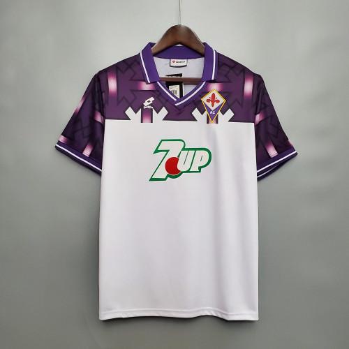 92-93  Fiorentina Away Retro Jersey
