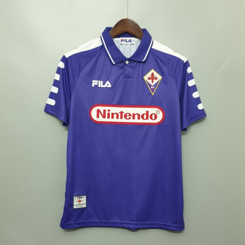 1998 Fiorentina Home Retro Jersey