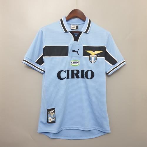 99-00 Lazio Home  Retro Jersey