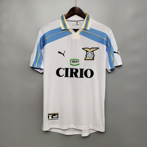 00-01 Lazio White  Retro Jersey