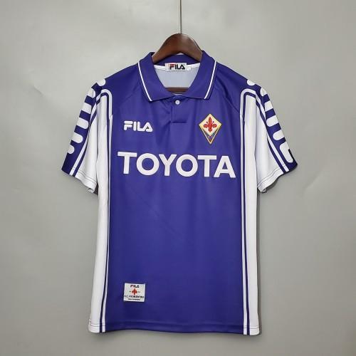 99-00 Fiorentina Home Retro Jersey