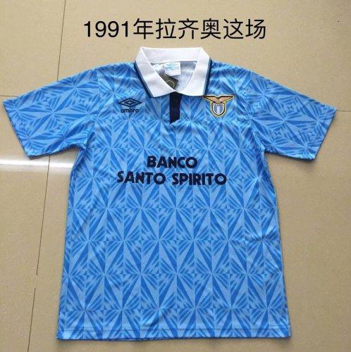 1991 Lazio Home  Retro Jersey