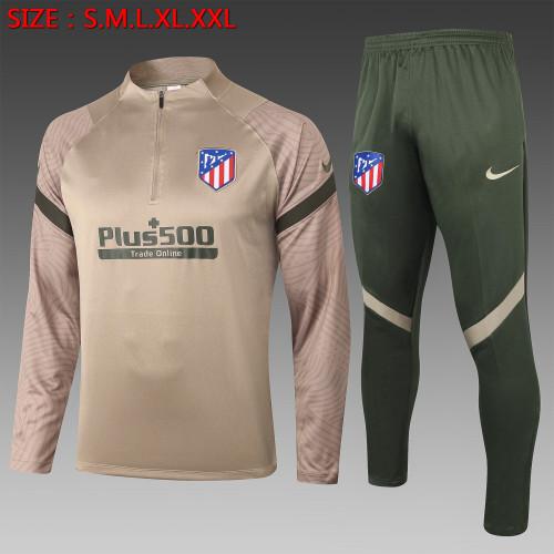 20-21 Atletico Madrid Khaki Training Suit