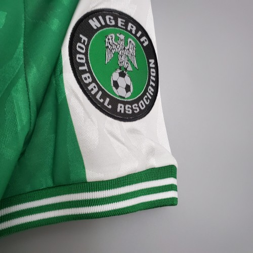 1996 Nigeria Home Retro Jersey