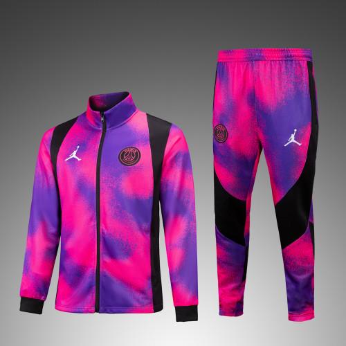20-21 PSG Pink Jordan Jakcet suit