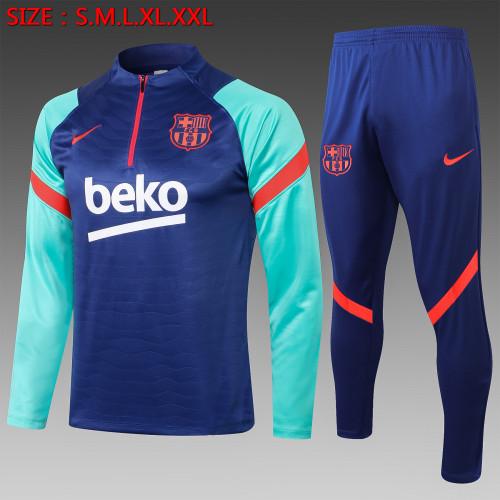 20-21 Barcelona Blue Training suit