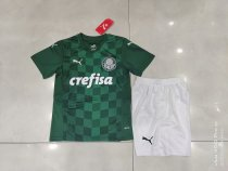 21-22 Palmeiras Home Green Kid Kit