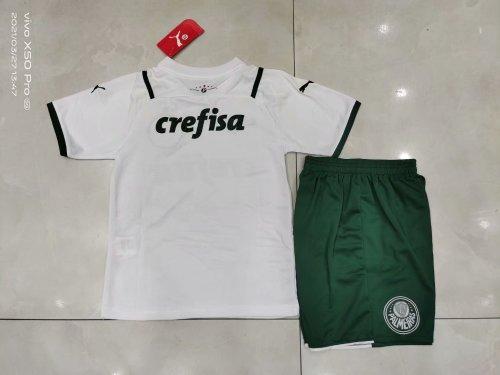 21-22 Palmeiras Away White Kid Kit