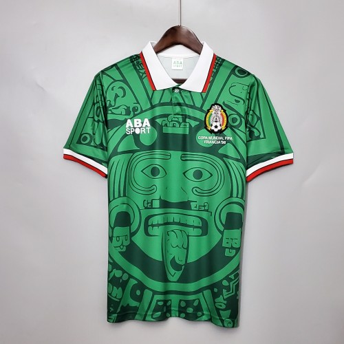 1998 Mexico Home Retro Jersey