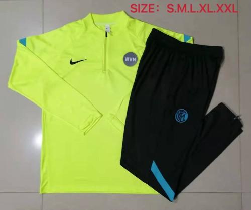 21-22 Inter Milan Neon Green Training suit