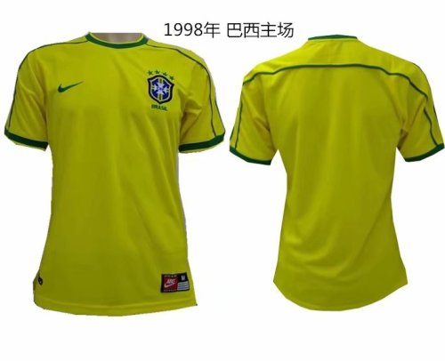 1998 Brazil Home Retro Jersey