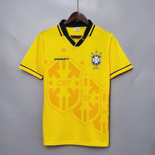 93-94 Brazil Home Retro Jersey