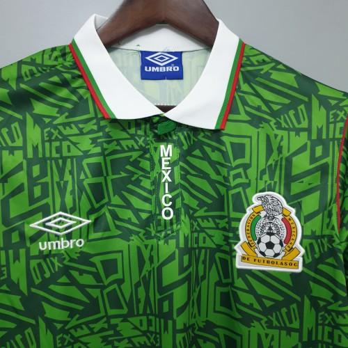 1994 Mexico Home Retro Jersey