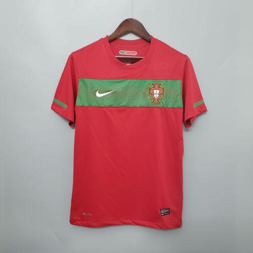 2010 Portugal Home Retro Jersey