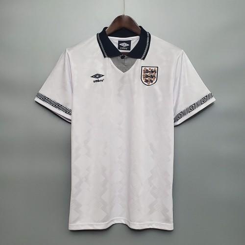 1990 England Home Retro Jersey