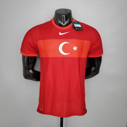 2020 Turkey Away Red Player Version Jersey