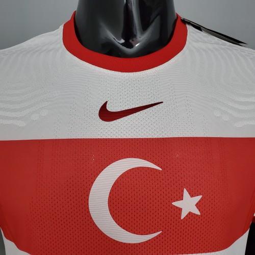 2020 Turkey Home White Player Version Jersey