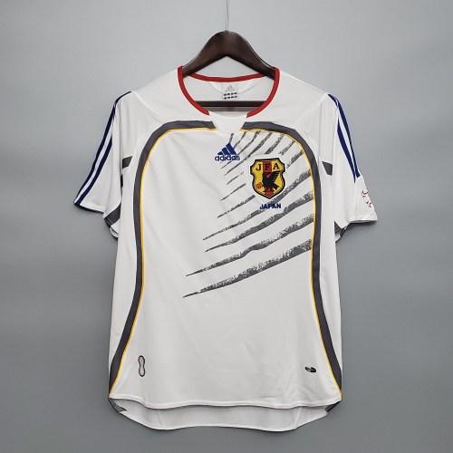 2006 Japan Away White Retro Jersey