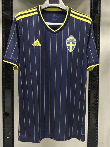 2020 Sweden Away  Fans Jersey