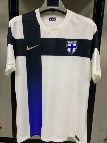 2020 Finland Home Fans Jersey