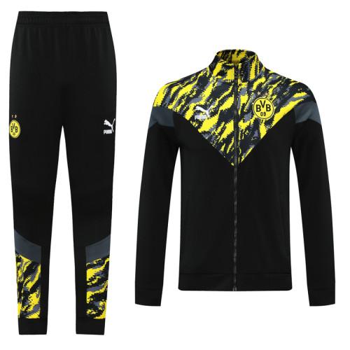 21-22 Dortmund Black-Yellow Jacket Suit